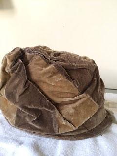 Velvet Cloche Hat