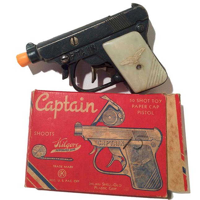 1940s Kilgore Captain Cap Gun