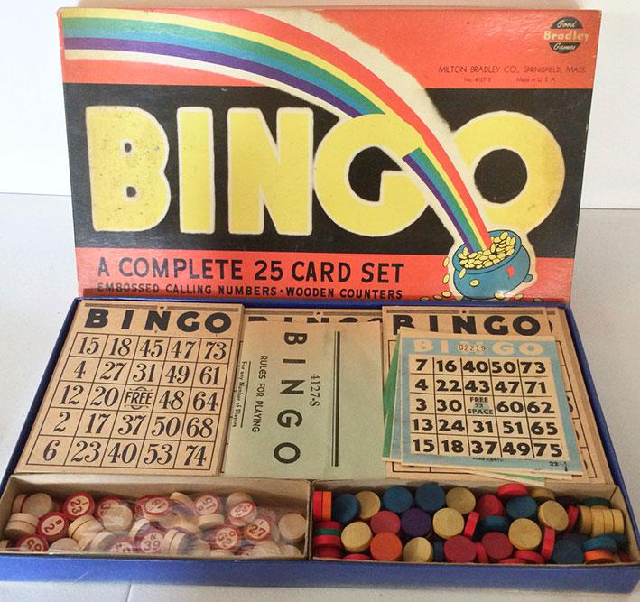 1930s Milton Bradley Bingo