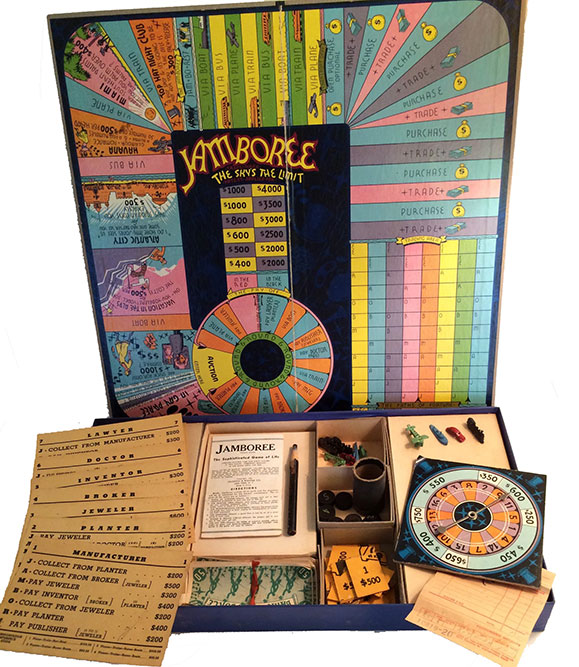 1936 Jamboree Board Game