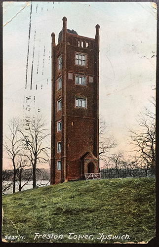 1907 Freston Tower Ipswich England