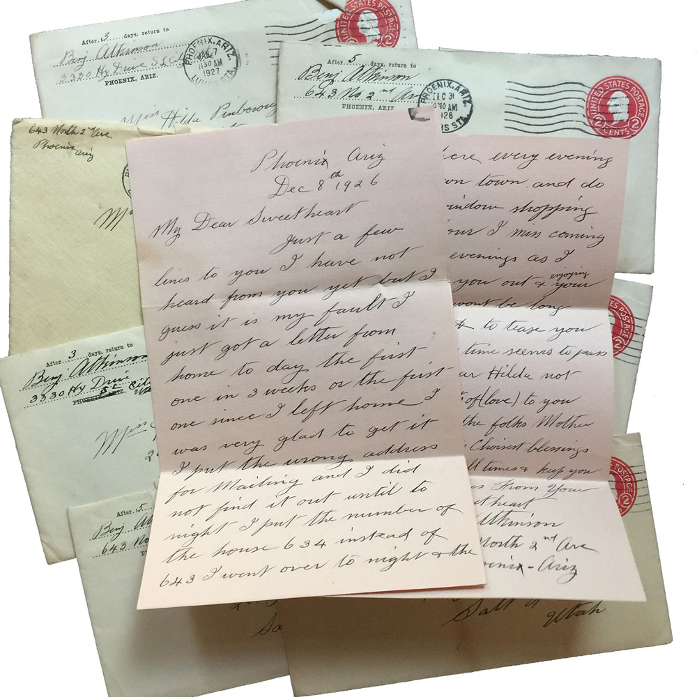 1926 Love Letters