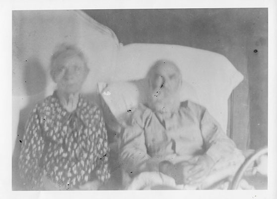 James W Terry & His Wife Almarinda Smith sometime before his death in 1932.