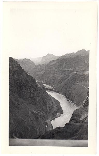 Boulder Dam 1937