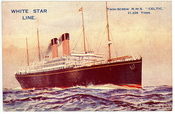 1926 RMS Celtic