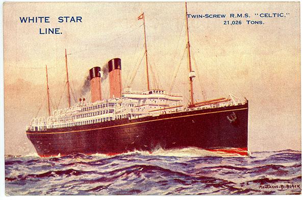 1926 RMS Celtic