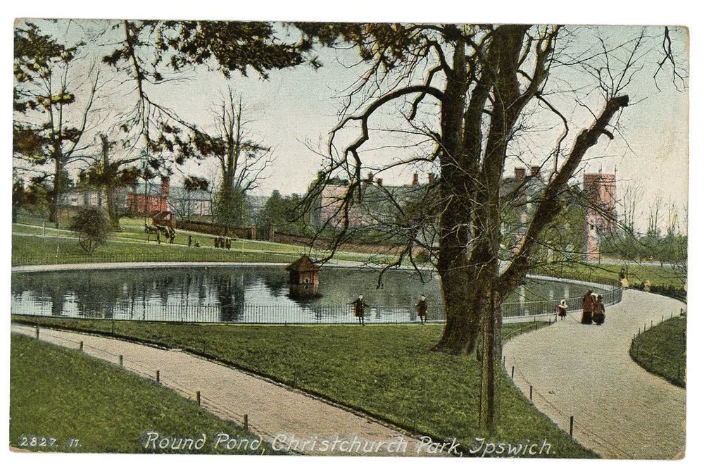 1908 Round Pond, Christchurch Park, Ipswich