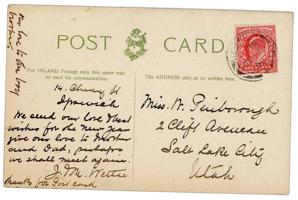 1908RoundPondIpswichPostcard