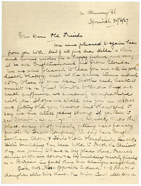1927LetterFromIpswichPage1