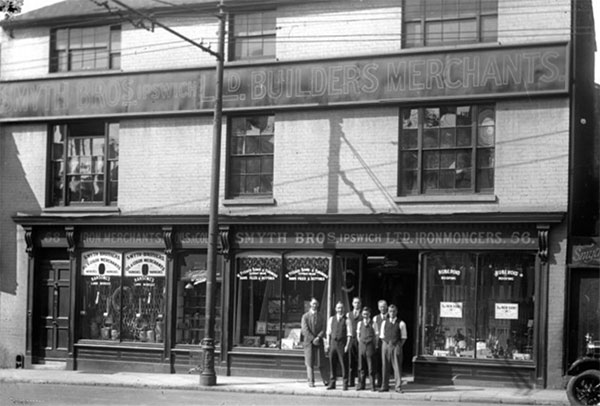 Smyth Bros Ipswich Builders & Merchants circa 1930s. Source:   IpswichStar