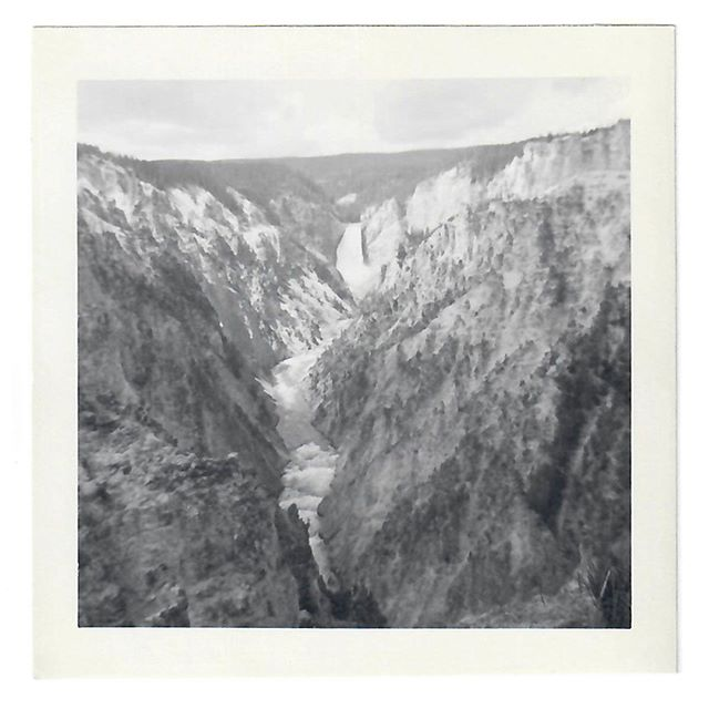"Dad: This is the Grand Canyon of Yellowstone Park, I think. ⠀ Me: Well which is it, the Grand Canyon or Yellowstone Park. ⠀ Dad: It's the Grand Canyon OF Yellowstone Park.⠀ Me: Aren't those two different places?⠀ Dad: No, I don't think so. Look it up. ⠀ Me: Oh, look at that, it is a single place - ""the Grand Canyon of the Yellowstone if the first large canyon on the Yellowstone River downstream from Yellowstone Falls in Yellowstone National Park in Wyoming.""⠀ Dad: See. That is not THE Grand Canyon. ⠀ Me: Did you go for there for vacation?⠀ Dad: We didn't take vacations.⠀ Me: Well then why did you take photos of the Grand Canyon of Yellowstone Park?⠀ Dad: It wasn't a vacation. ⠀ Me: It wasn't exactly in your backyard. It's about a seven hour drive from the house you grew up in. ⠀ Dad: Well, I guess YOU can call it a vacation. When we went to Long Beach for a week or so to visit family, that was more what I'd call a vacation. But if we went fishing at Bear Lake or Moon Lake, that was not a vacation. ⠀ Me: So, more like an outing. ⠀ Dad: Yes. That sounds better.⠀ .⠀ Summer 1948⠀ .⠀ .⠀ .⠀ #Familyhistory #Rootstech #oldphoto #genealogy #ancestry #1940s #vintagephoto #familysearch #instaphoto #blackandwhitephotography #foundphoto #caregiver #findmypast #memoirs #memories #familystories #sharingthepast #vintagefashion #caregiving #stories #shortstories #interview #alzheimers⠀"