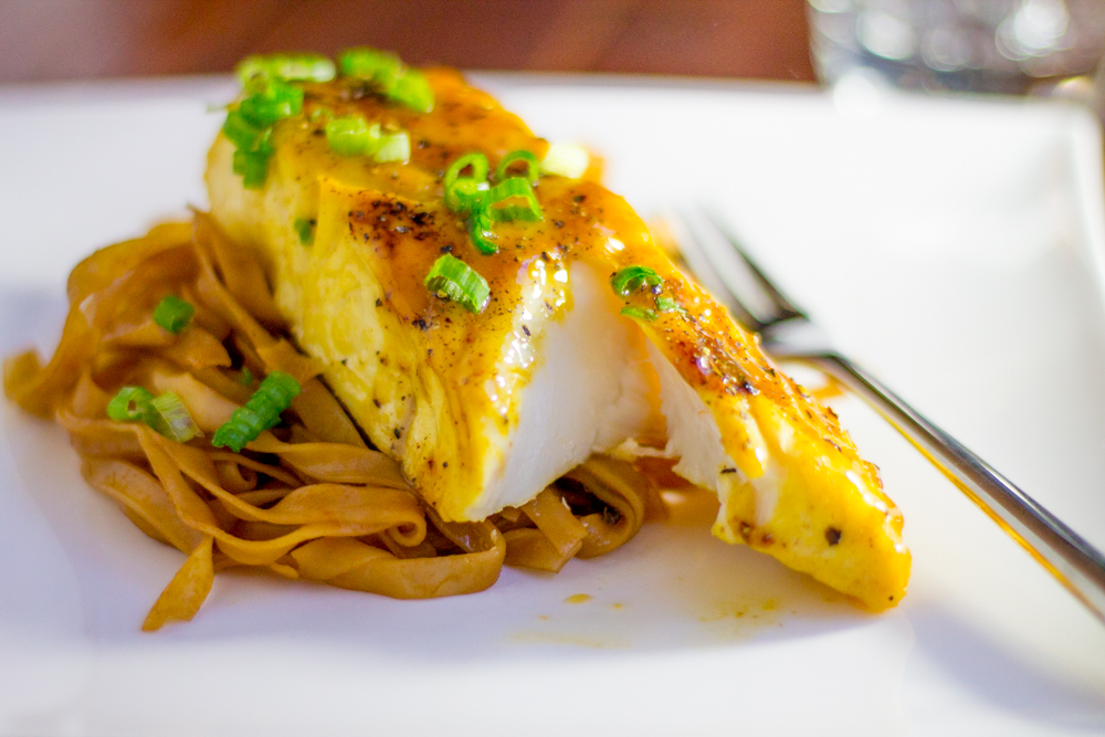 Citrus Glazed Halibut - Bake, Braise & Broil
