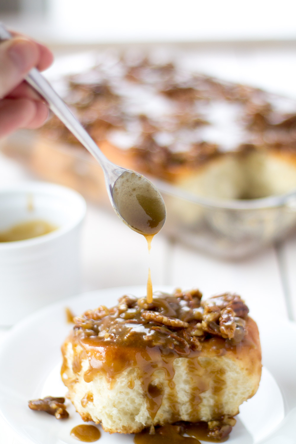 Pecan Pie Sticky Buns - Bake, Braise & Broil