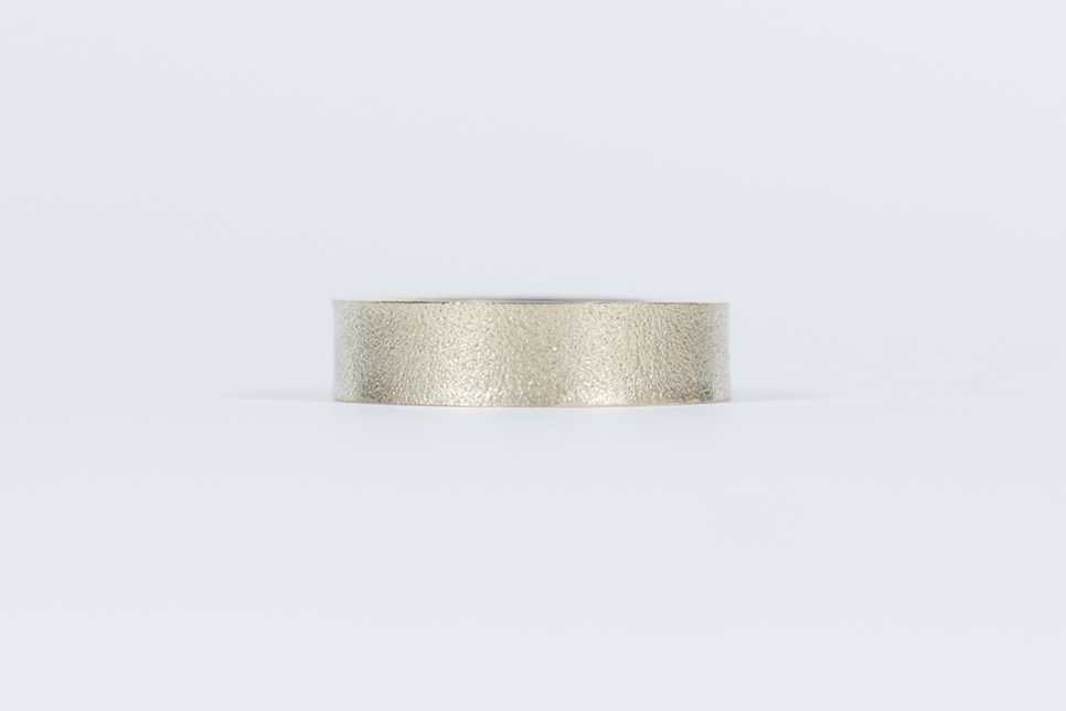 80 Grit Sandpaper Wedding Band