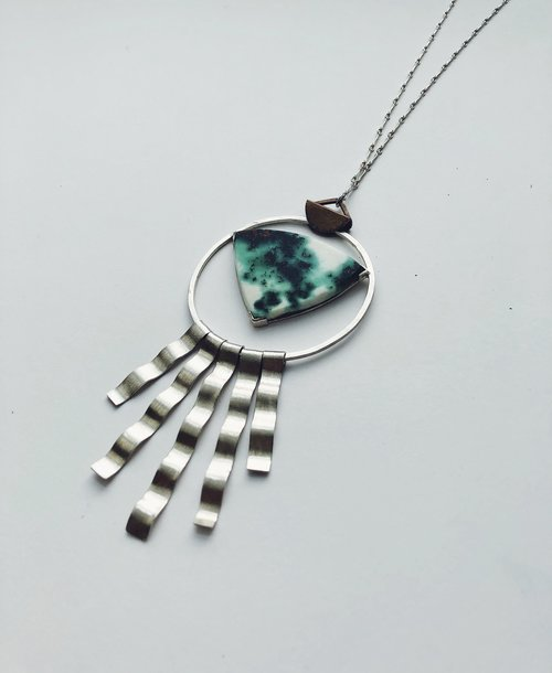 Chrysocolla pendant sarah sears jewelry chrysocolla pendant mozeypictures Image collections