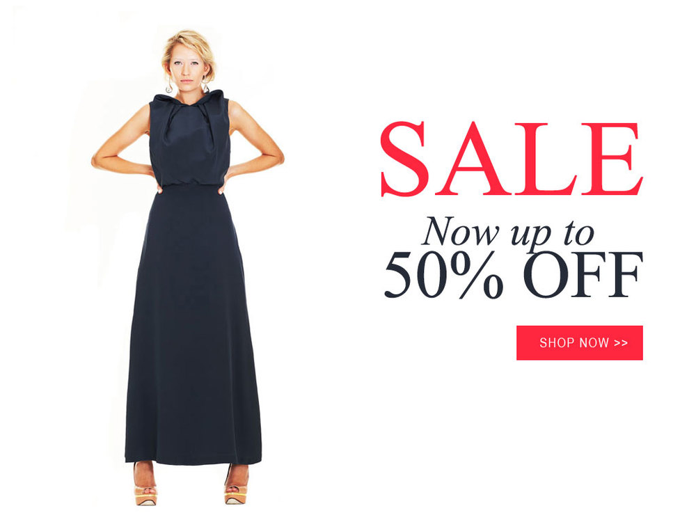 SALE Up to 50% OFF selected items. Shop the SALE now >>