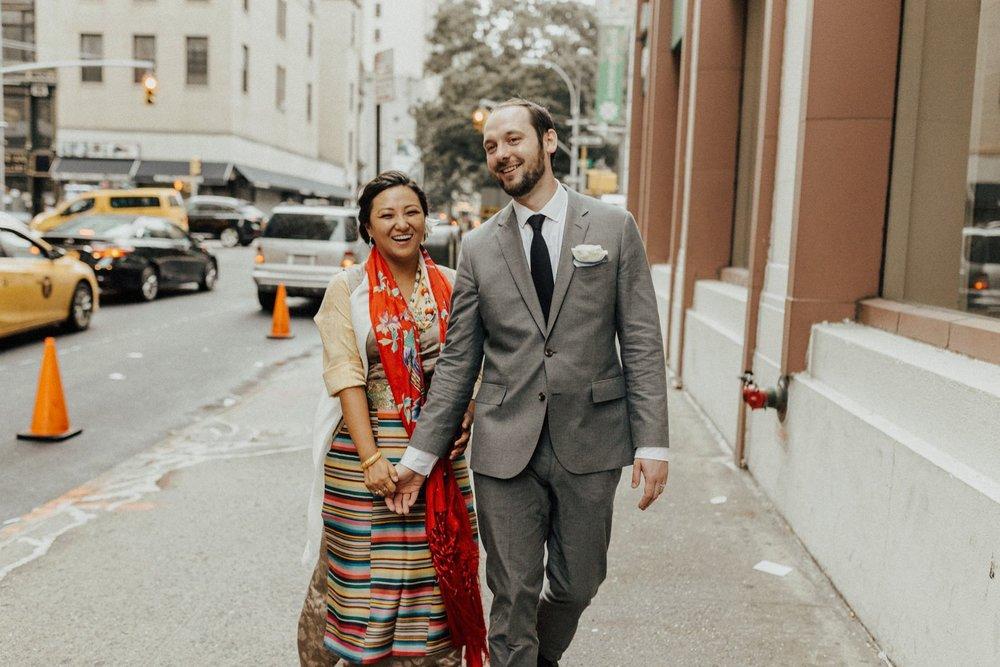 Copy of Marcin + Tenchoe | New York Wedding