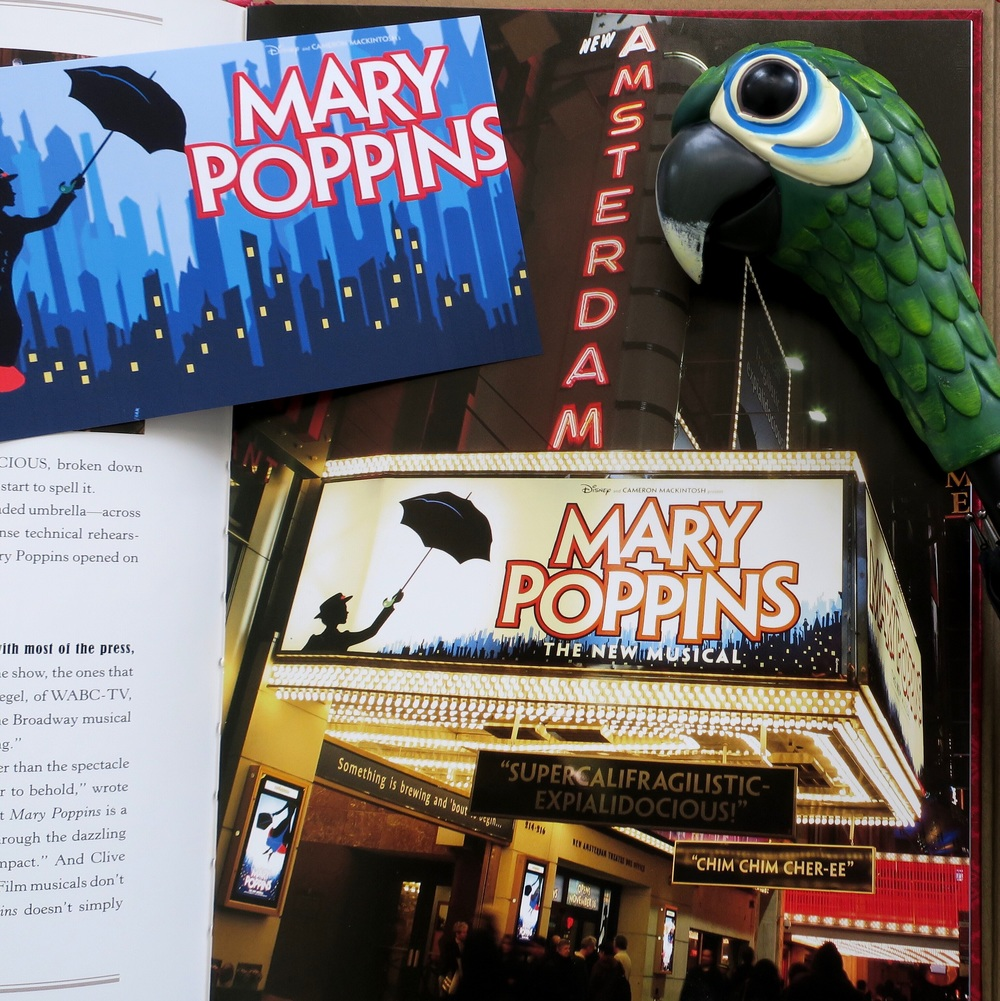 Scene from Mary Poppins: Anything Can Happen If You Let It (A Disney Theatrical Souvenir Book)