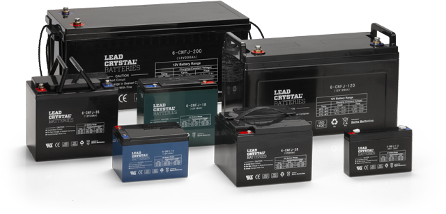 LEAD CRYSTAL ® BATTERIES - The power of tomorrow.