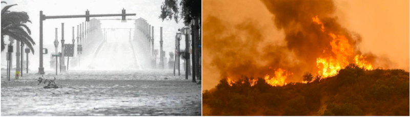 Images courtesy of The Florida Times-Union (left) and The San Diego Union Tribune (right) and