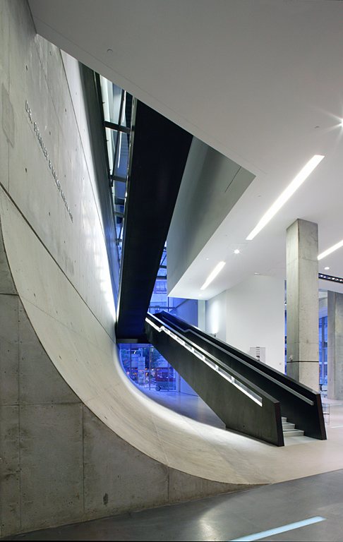Contemporary Arts Center, Zaha Hadid.  Photo:  Timothy Sakamoto