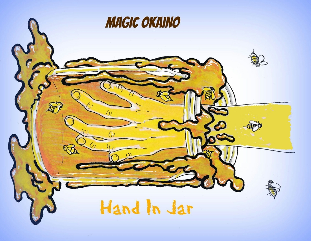 Alternative cover for single Hand In Jar by Magic Okaino. Artwork with single only available on iTunes and Apple Music