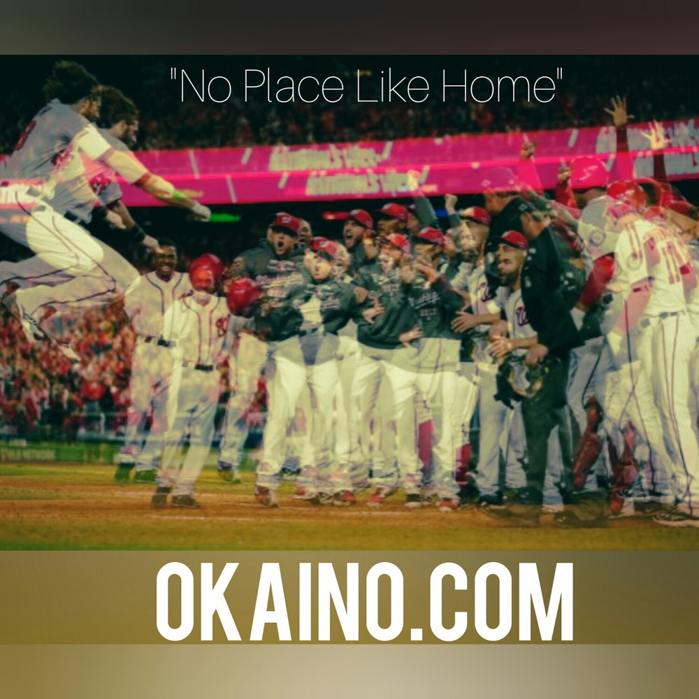 okaino cheers to do no place like home