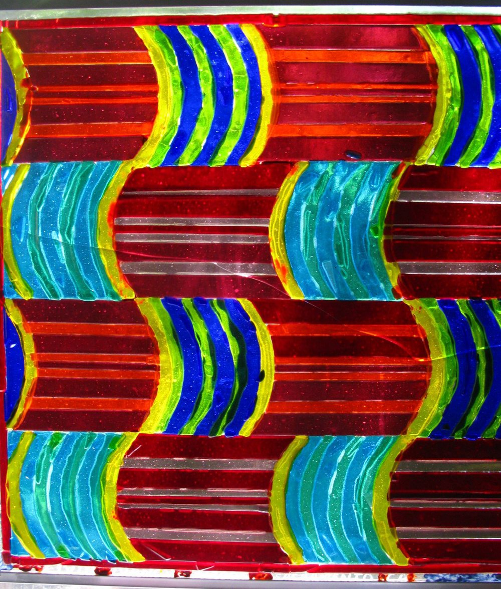 Liviu_glass_Curved_patterns_in_square 6-17-2009 1-27-28 PM.JPG