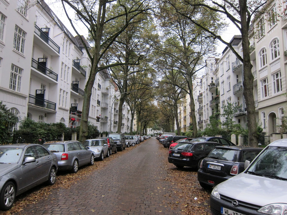 2012, Hamburg, where I lived for two weeks.