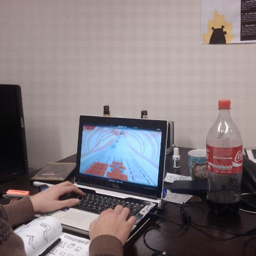 Vlambeer at work: Audiosurf
