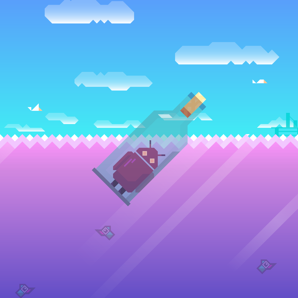 Ridiculous Fishing Android