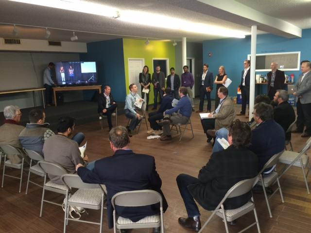 Cohort 3's first pitches to Harbor mentors