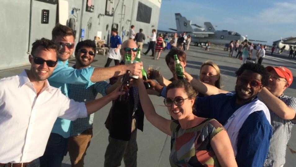 Cheers, Cohort 3!