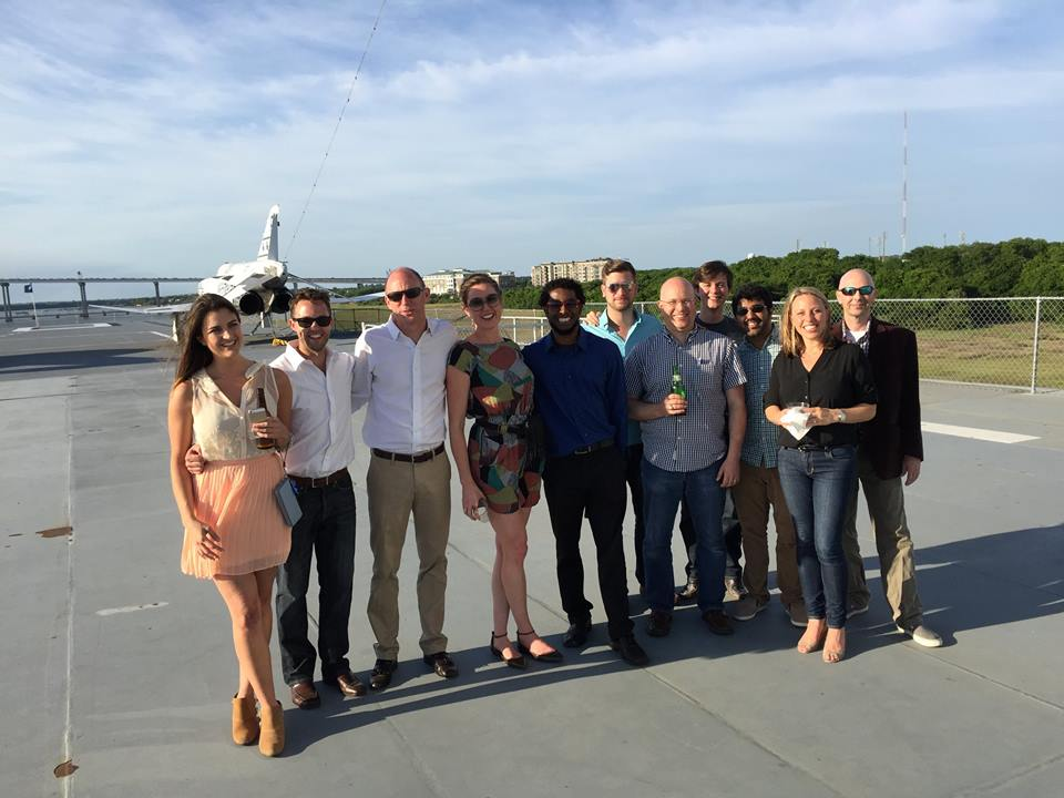 Cohort 3 at the USS Yorktown for Rise of the Rest w/ Steve Case