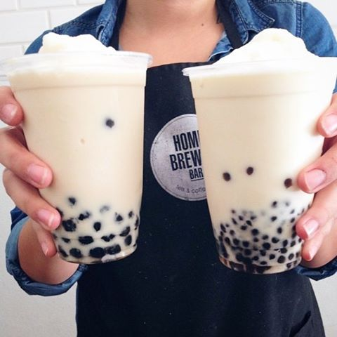 Big and Mini Boba.  We serve your 20 hour cold brewed drink: Over Ice, Blended or Hot. . . Get 'em while it's hot. . . #homebrewedbar#welcomehome#pasadena#coldbrew#coffee#coldbrewcoffee#tea#milktea#coffeeandtea#oldpas#coffeetime#coffeebreak#boba#onlyinoldpas#homesweethome#homeawayfromhome#summer #hot #626