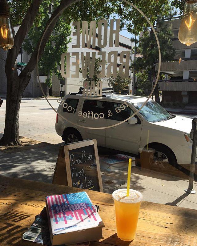 Enjoy one of our new Mocktails on this sunny Pasadena day ☀️🌳 Grey.Green.Mango enhanced with Aloe Vera Jelly  #homebrewedbar #welcomehome#pasadena #coldbrew#coffee #coldbrewcoffee #tea #milktea#coffeeandtea #oldpas#coffeetime #coffeebreak #boba#onlyinoldpas#homesweethome#homeawayfromhome#summer#cool#626