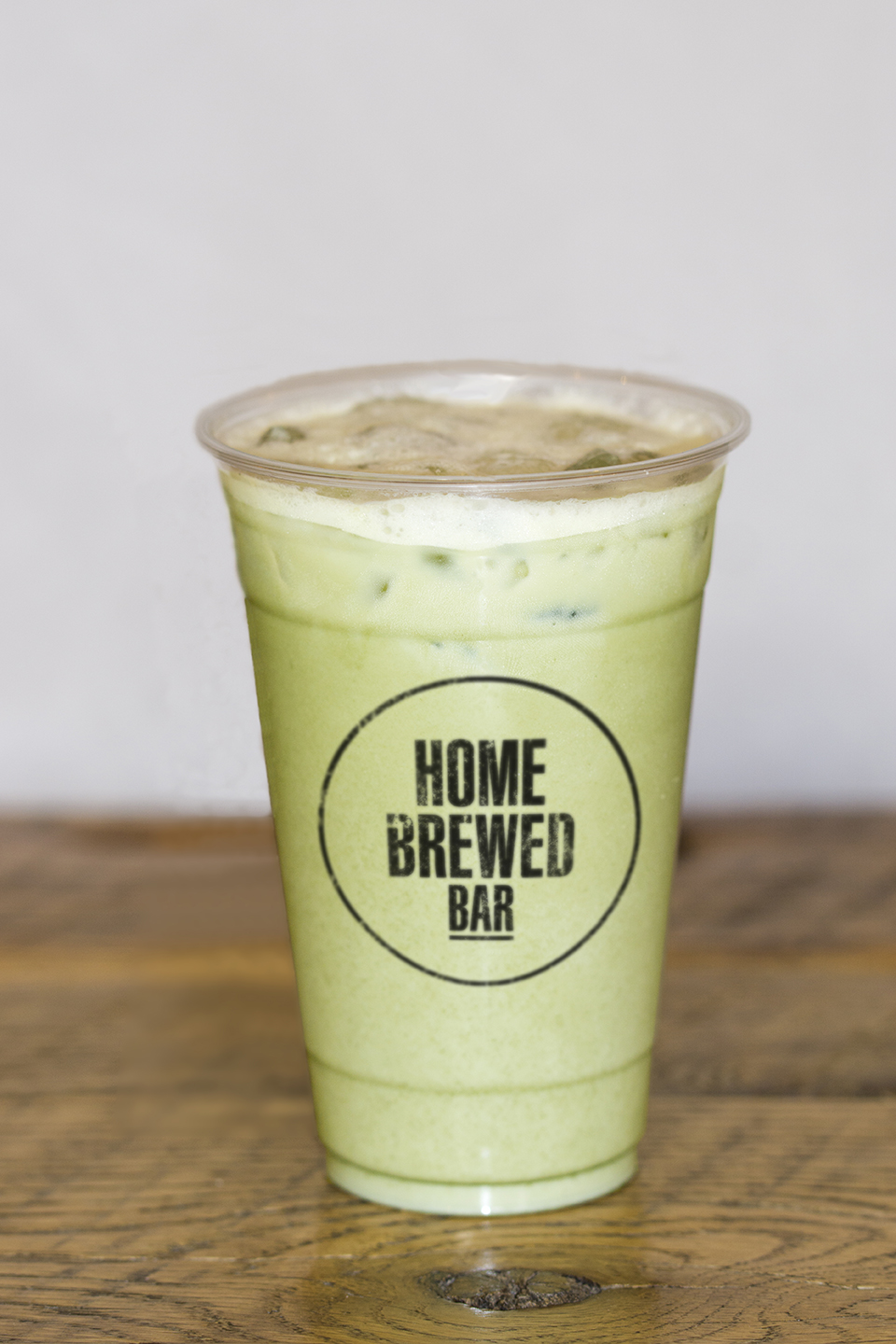 Matcha Pistachio Milk Tea.