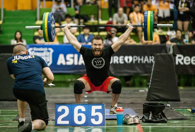 Photo courtesy of the CrossFit Games.