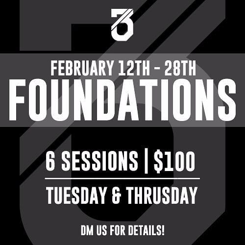 Make sure you book your foundations for next month! Limited slots available! DM us for more details or any questions! #foundations #crossfit #brunei #reebokcrossfit673