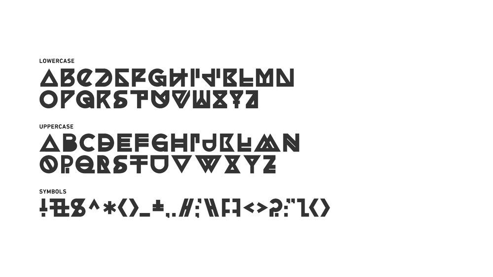 Charveta Typeface 2013 The Nest Collective