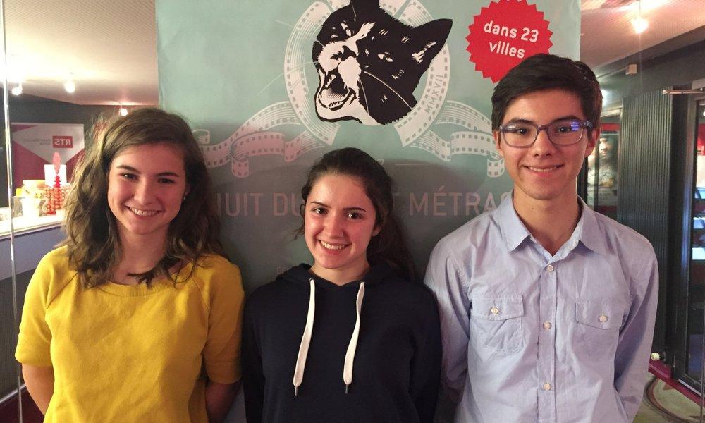 Prix RTS du Jury des jeunesNuit du Court de Neuchâtel - Nous remettons le Prix RTS du Jury des jeunes àRHAPSODY de Constance Meyer. Ce n'est pas tant une question de célébrité, mais plutôt de tendresse et d'humilité que Gérard Depardieu incarne parfaitement.Rosa, Sonia et Juan