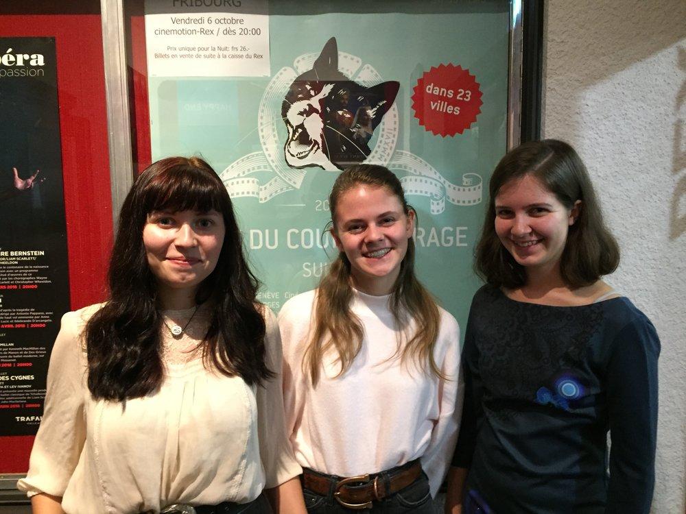 2017-09-06 Nuit du Court Fribourg Jury des jeunes Sorina Alexandra Jeanne 2.JPG