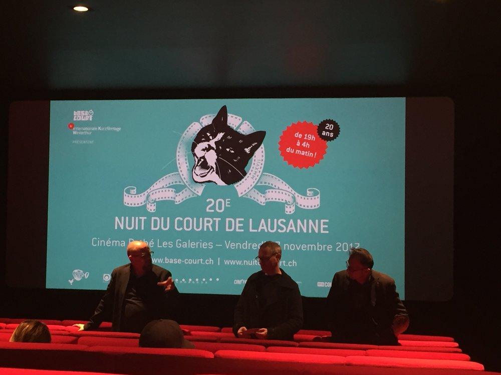 2017-11-17 Nuit du Court Vincent Patar et Stéphane Aubier 1.JPG