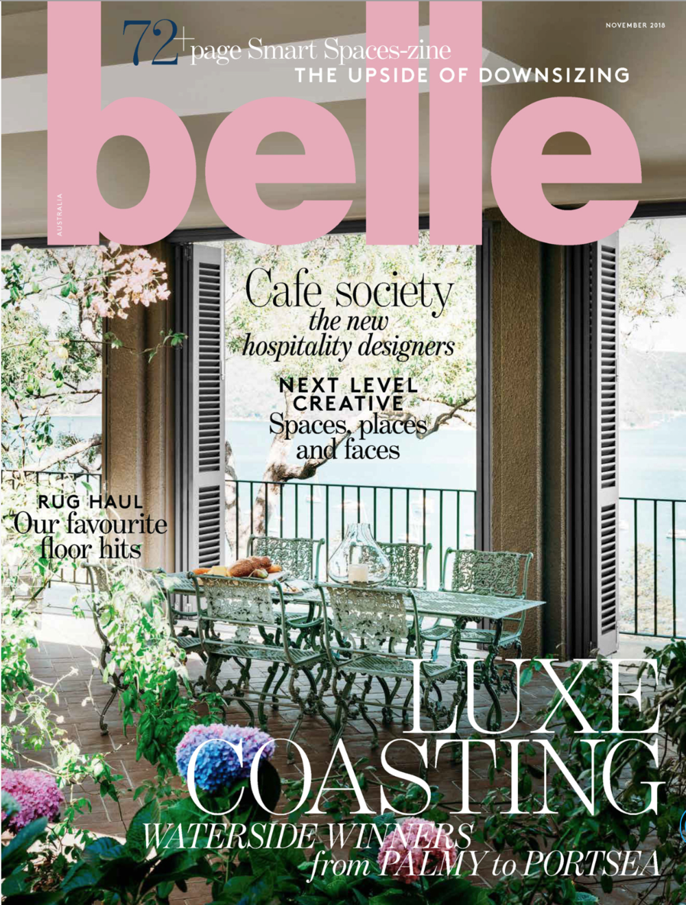 Belle Magazine Nov 2018 - Manly Apartment by Jillian Dinkel Design