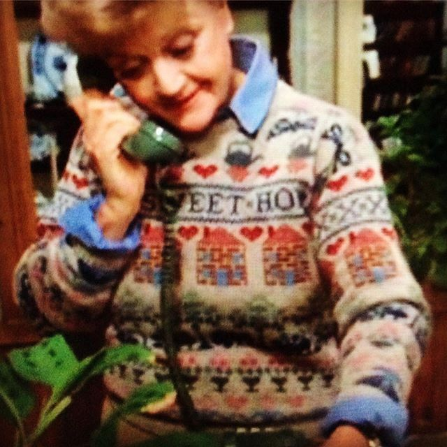 I must have this jumper #jumper #murdershewrote #wantit