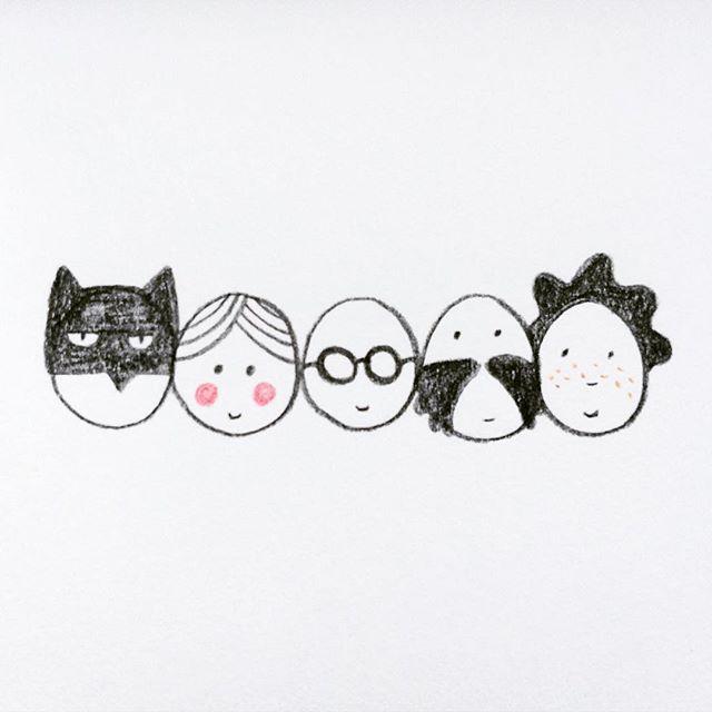 Little heads #illustration