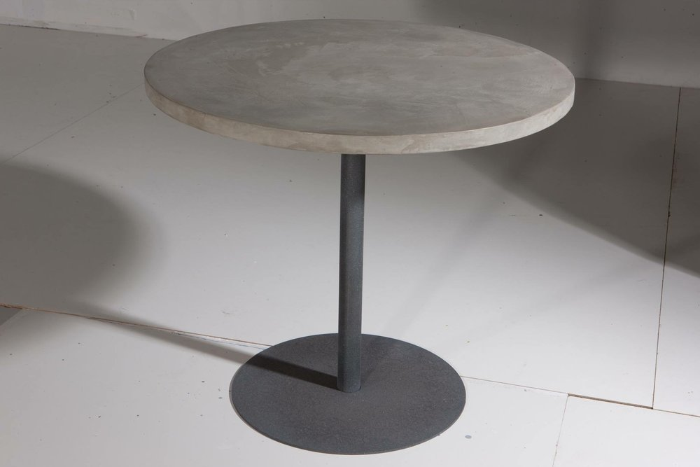 Micro-topping concrete Table