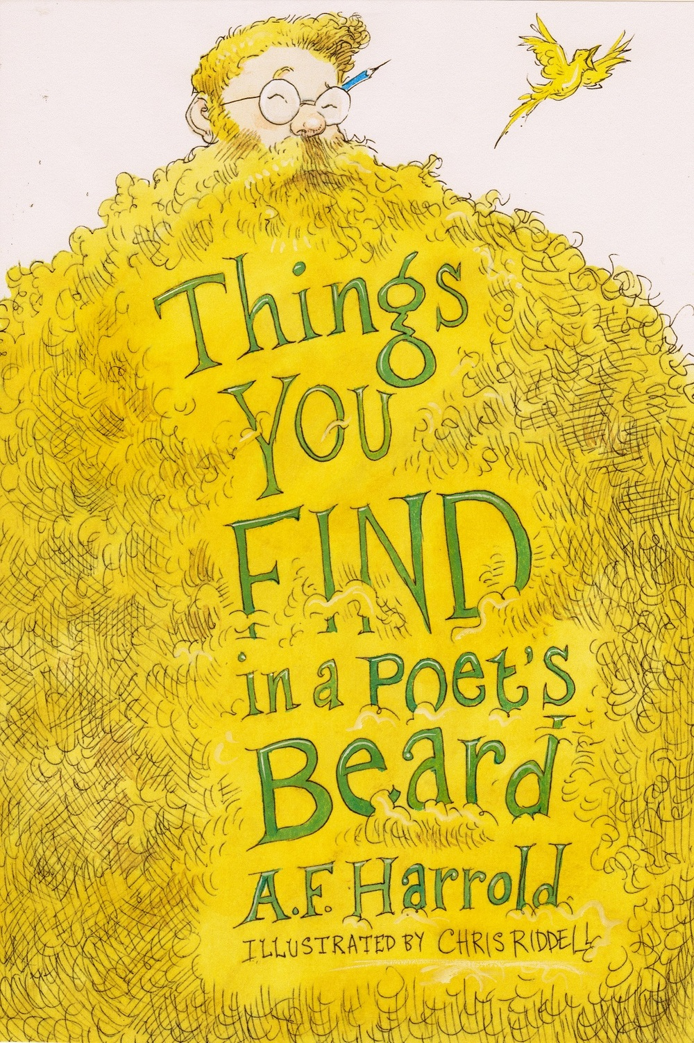 Cover by Chris Riddell