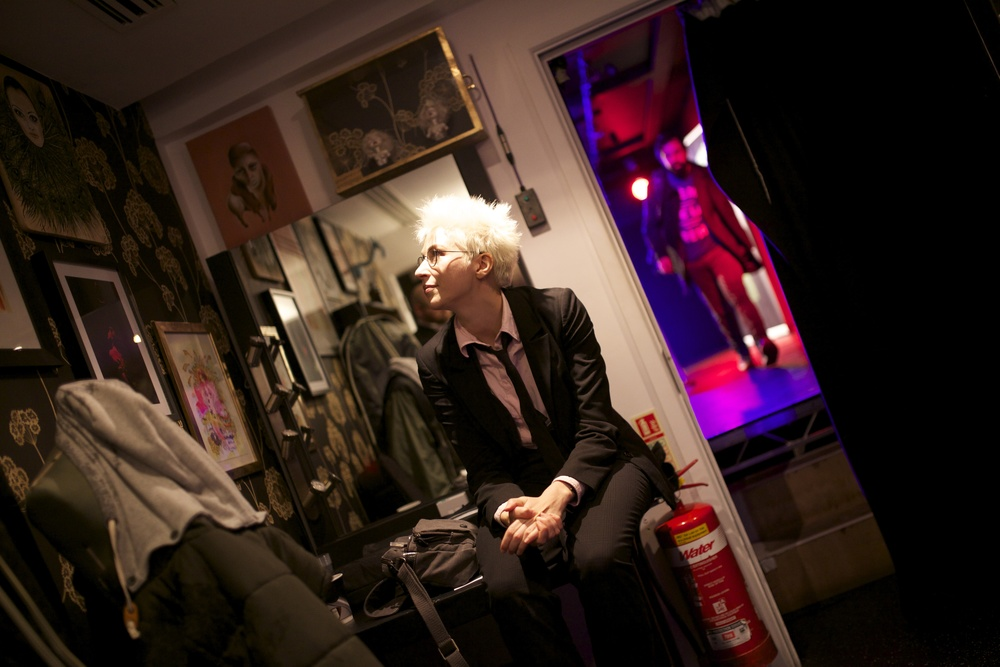 Backstage at The Soho Theatre
