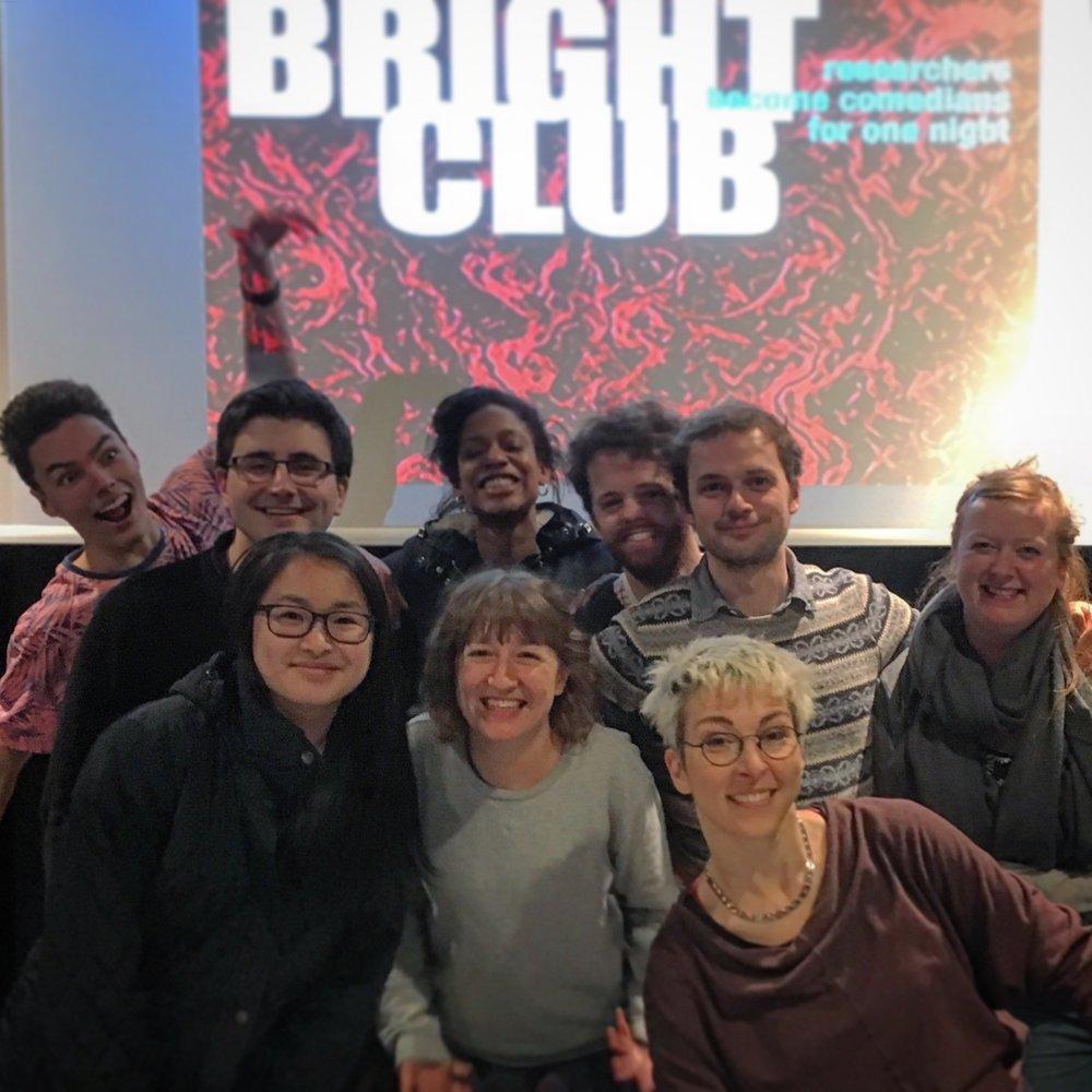Iszi Bright Club teaching